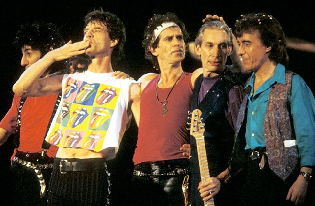 THE ROLLING STONES 1990