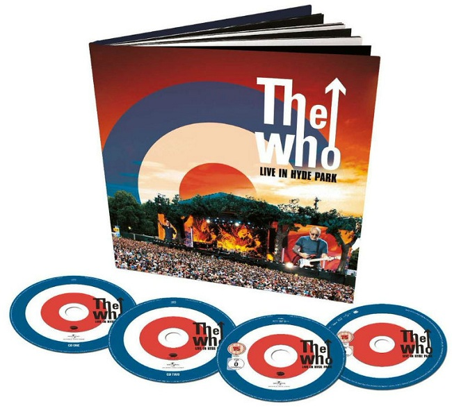 THE WHO, Live in Hyde Park