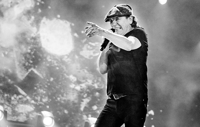 Брайан Джонсон, AC/DC
